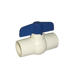 LEGEND 202-404 S-605 Compact Miniature Ball Valve, 3/4 in, Solvent Weld, CPVC Body, Full Port, Import