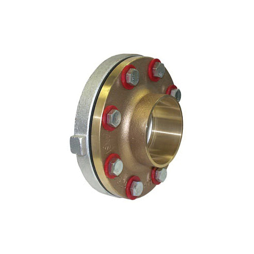 LEGEND 301-107NL T-571NL Dielectric Union, 1-1/2 in, FNPT x C, Forged Carbon Steel, Import