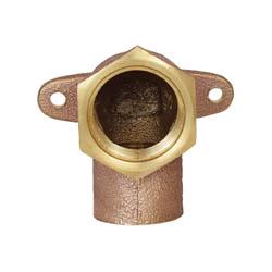 LEGEND 302-223NL Drop-Ear Elbow, 1/2 in, C x FNPT, Brass, Import