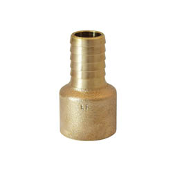 LEGEND 312-045NL Insert Female Adapter, 1 in, Barb x FNPT, Bronze, Import
