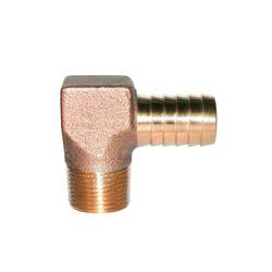 LEGEND 312-064NL Reducing Hydrant Elbow, 1 x 3/4 in, Insert x MNPT, Bronze, Import