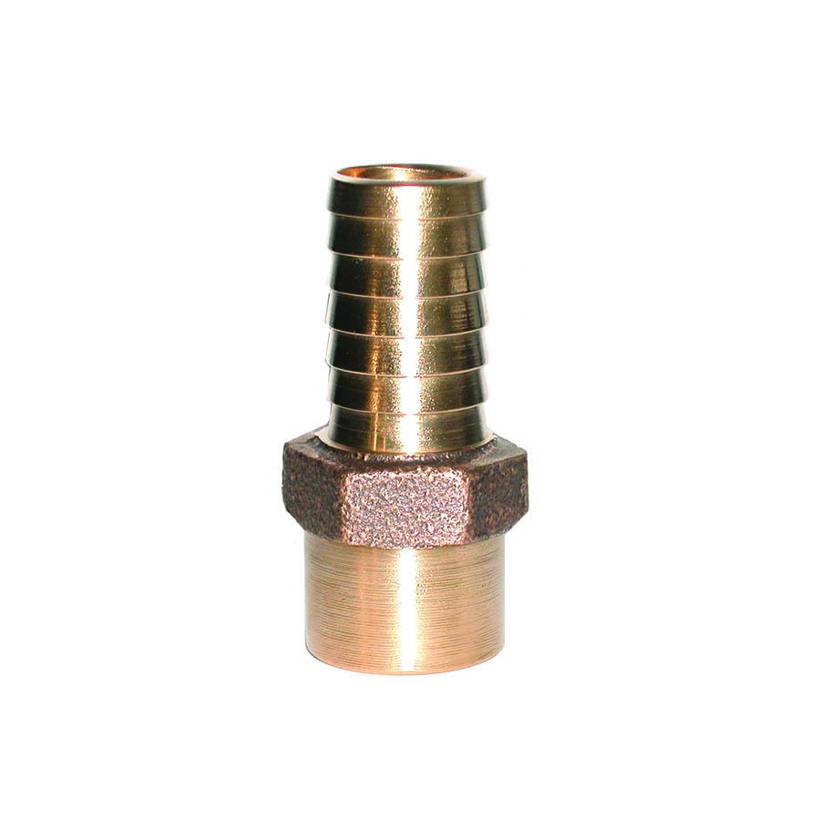 LEGEND 312-215 Solder Adapter, 1 in, Insert x Solder, Bronze, Import