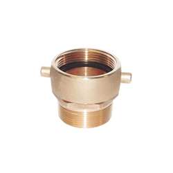 LEGEND 322-234 A-91 Adapter With Ball Bearing Swivel, 2-1/2 in, Female NST x MNPT, Forged Brass, Import