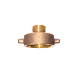 LEGEND 322-740 A-75 Hydrant Adapter, 2-1/2 x 2 in, Female NST x MNPT, Brass, Import