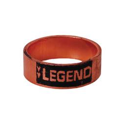 LEGEND 460-907 Crimp Ring, 1-1/2 in, Copper, Import