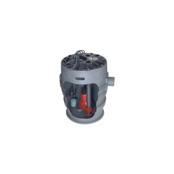 Liberty Pumps® P372LE41 Pro370 1-Phase Simplex Sewage System, 2 in Outlet, 4/10 hp, Polyethylene, Domestic