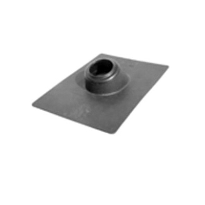 LSP™ Hard Base Poly® P-4150 Roof Flashing, 13-1/16 in L x 8-7/8 in W Base, 1-1/2 in Pipe, Poly III
