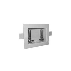 Speciality Products™ Switch Hitter® OB-217 Unassembled Washing Machine Outlet Box With Water Hammer Arrestor, Plastic, White
