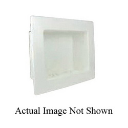 Speciality Products™ Switch Hitter® OB-338 Assembled Washing Machine Outlet Box With Wirsbo ProPEX® Valves, Plastic, White