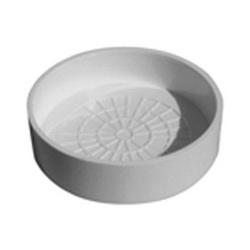 Speciality Products™ P-0071 End Cap, 1-1/2 in Dia, PVC, White, Domestic