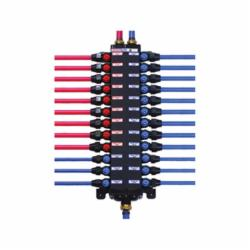ManaBloc® 36182 Distribution Manifold, 18 3/8 in Outlets, Polymer, Domestic