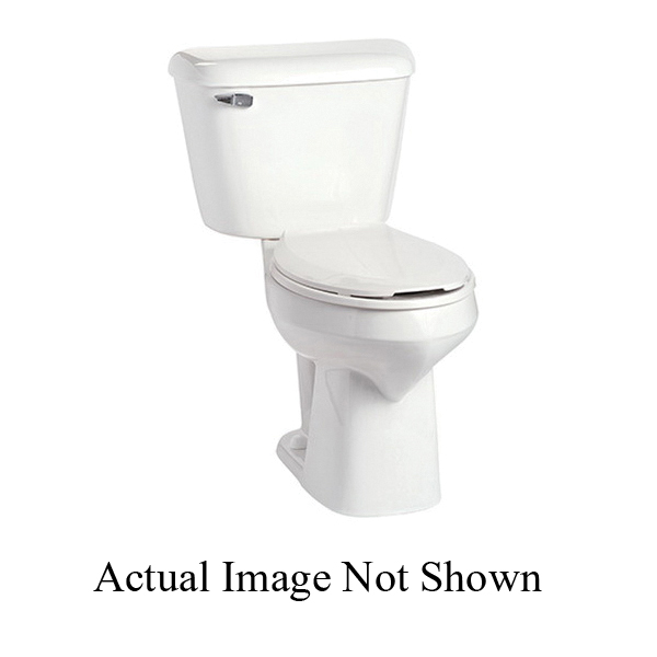 Mansfield® SmartHeight™ 137 WH Alto™ Toilet Bowl Only, Elongated, 9 x 10 in Water Surface, 2 in Dia Trapway