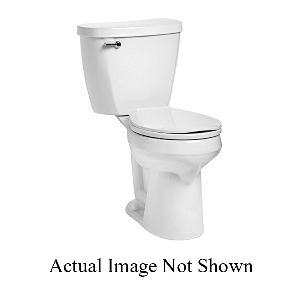 Mansfield® SmartHeight™ 388 WH Summit™ Toilet Bowl Only, Round, 8 x 9 in Water Surface, 2 in Dia Trapway