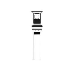 McGuire™ 155AECO Eco-Line Open Grid PO Plug, Cast Brass