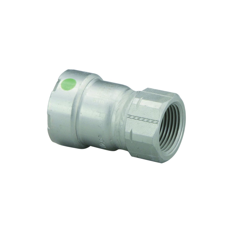MegaPress® 25630 Tube Adapter, 2 x 3/4 in, Press x FNPT
