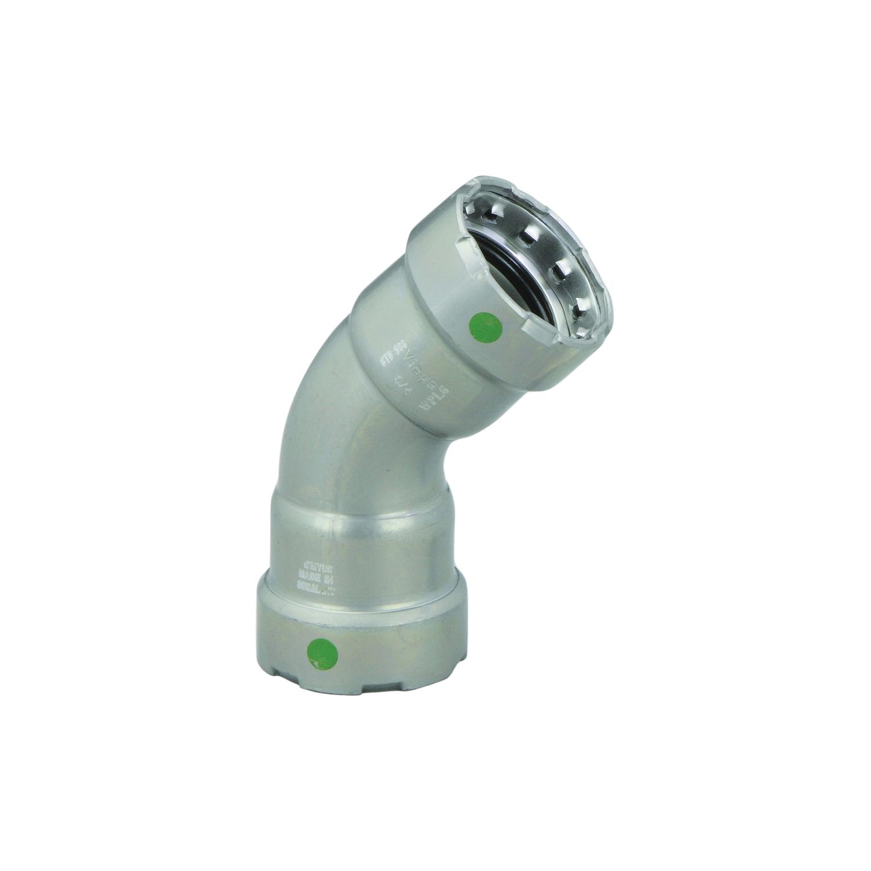 MegaPress® 25255 45 deg Pipe Elbow, 2 in, Press