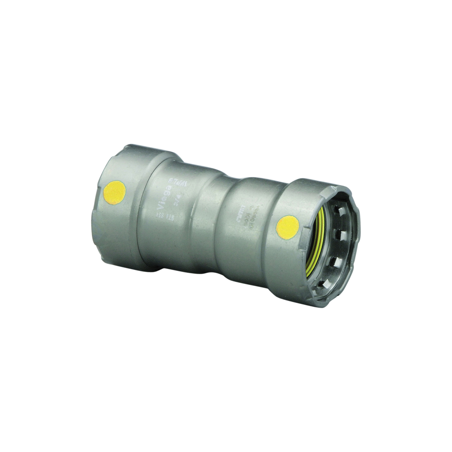 MegaPress®G 25011 Pipe Coupling With Stop, 1 in, Press