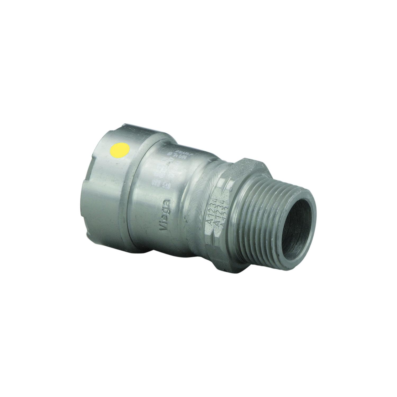 MegaPress®G 25126 Pipe Adapter, 2 in, Press x MNPT