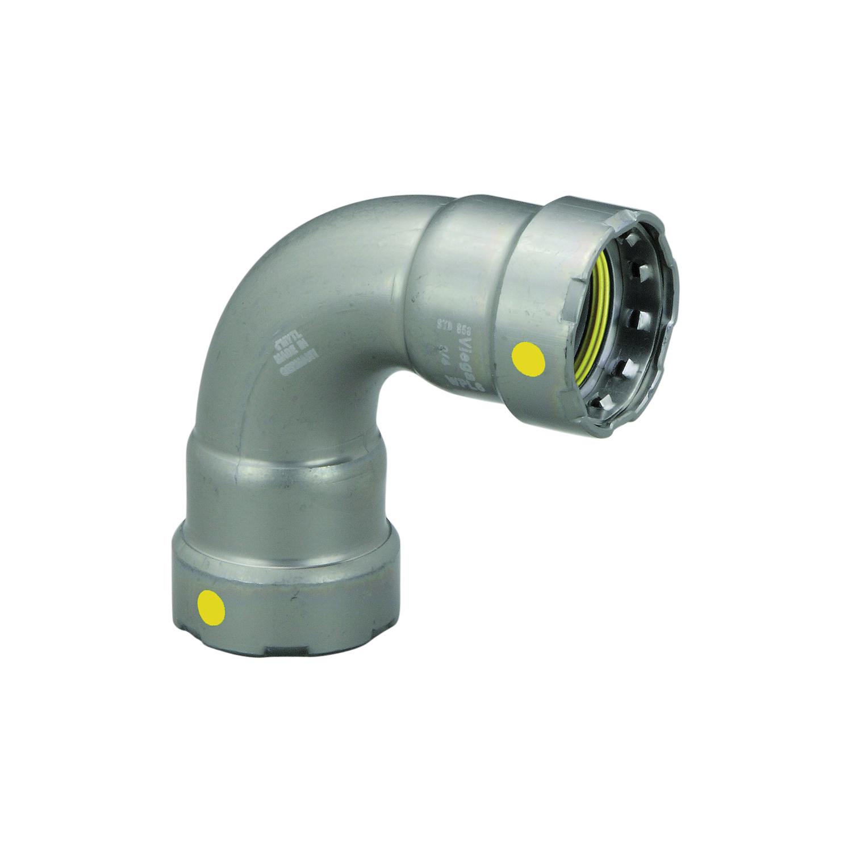 MegaPress®G 25211 90 deg Pipe Elbow, 1 in, Press
