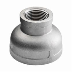 Merit Brass K412-1208 Reducing Banded Coupling, 3/4 x 1/2 in, FNPT, 150 lb, 304/304L Stainless Steel, Import