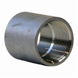 Merit Brass KP411-16 KI Pattern Pipe Coupling, 1 in, FNPT, 150 lb, 304/304L Stainless Steel, Import