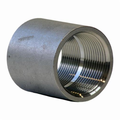 Merit Brass KP411-08 KI Pattern Pipe Coupling, 1/2 in, FNPT, 150 lb, 304/304L Stainless Steel, Import