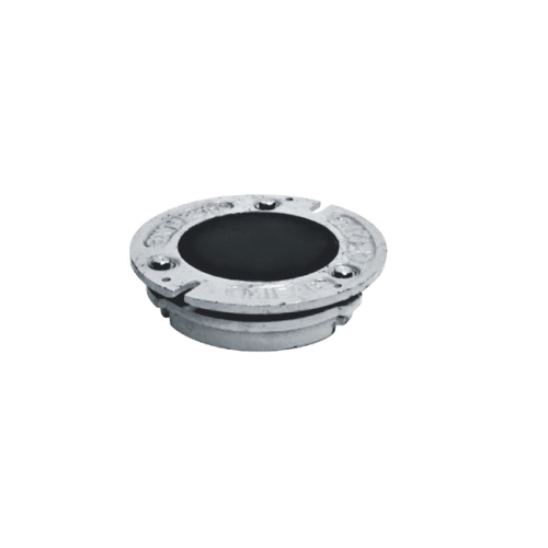 MIFAB® CF42TC Closet Flange With Test Cap, 2 in ID x 4 in OD, Cast Iron