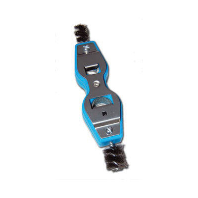 Cleanfit Blue Monster® 70255 Tube Brush/Deburrer, 6-In-1, 1/2 x 3/4 in Nominal Tube