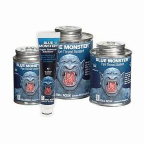 Cleanfit Blue Monster® 76015 Heavy Duty Industrial Grade Pipe Thread Sealant, 1 pt Can, Paste, Blue, 1.41