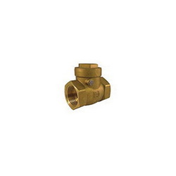 Hammond Valve 0967000034 967 Swing Check Valve, 3/4 in, Thread, 200 lb WOG, Brass Body