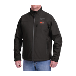 Milwaukee® 201B-20XL M12™ Heated Jacket, XL, Men's, Black, Brushed Tricot/Polyester