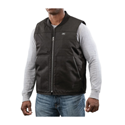 Milwaukee® 2173-L M12™ Insulated Heated Vest Kit, L, Men's, Black, 900 Denier Polyester Ripstop/600 Denier Polyester Outer/Thermal Knit Fleece Inner