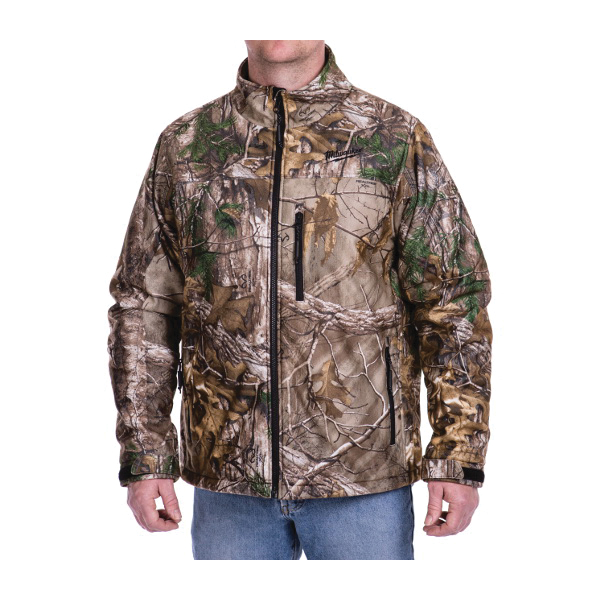 Milwaukee® 221C-20L M12™ Heated Jacket, L, Men's, Realtree Xtra® Camouflage, Brushed Tricot/Polyester