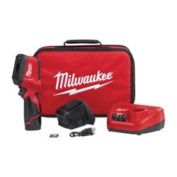 Milwaukee® 2258-21 M12™ Thermal Imager Kit, 2.4 in LCD, 14 to 626 deg F, 320 x 240 pixel Display, 7854 pixel (102 x 77) Sensor, 12 VDC