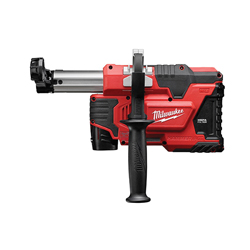 Milwaukee® 2306-22 M12™ HAMMERVAC™ Universal Dust Extractor Kit, For Use With SDS Plus Rotary Hammers, 12 V, Lithium Battery, Metal/Plastic/Rubber Overmold