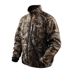 Milwaukee® 2333-2X M12™ Cordless Multizone Heated Jacket Kit, 2XL, Men's, Realtree AP™ Camo, Noise Reducing Polyester