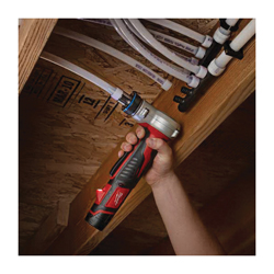 Milwaukee® ProPEX® 2432-22 M12™ Compact Cordless Expansion Tool Kit, 3/8 to 1 in Tubing, 12 V, Lithium-Ion Battery