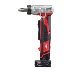 Milwaukee® ProPEX® 2432-22xc M12™ Compact Cordless Expansion Tool Kit, 3/8 to 1 in Tubing, 12 V, Lithium-Ion Battery