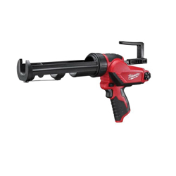 Milwaukee® 2441-20 M12™ Cordless Caulk and Adhesive Gun, 10 oz, Red/Black