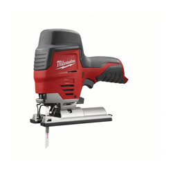 Milwaukee® 2445-20 M12™ Compact High Performance Lightweight Cordless Jig Saw, 12 VDC, For Blade Shank: T-Shank, 8 in OAL, Lithium-Ion Battery, Bare Tool