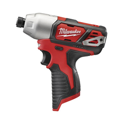 Milwaukee® 2462-20 M12™ High Performance Cordless Impact Driver With Belt Clip, 1/4 in Hex/Straight Drive, 3300 bpm, 1000 in-lb Torque, 12 V