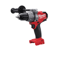 Milwaukee® M18 FUEL™ Cordless Hammer Drill/Driver, 1/2 in Metal Single Sleeve Ratcheting Lock Chuck, 725 in-lb Torque (Bare Tool)