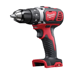 Milwaukee® 2606-20 M18™ Cordless Drill/Driver, 1/2 in Chuck, 18 VDC, 0 to 400/0 to 1800 rpm No-Load, 7-1/4 in OAL, Lithium-Ion Battery