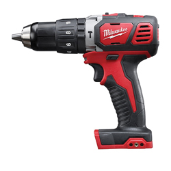 Milwaukee® 2607-20 M18™ Cordless Hammer Drill/Driver, 1/2 in Metal Single Sleeve Ratcheting Lock Chuck, 500 in-lb Torque, 18 VDC, Lithium-Ion Battery