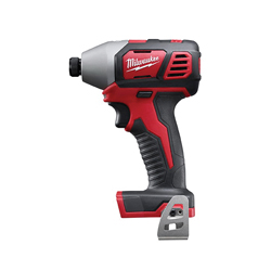 Milwaukee® 2656-20 M18™ Compact Cordless Impact Driver With Belt Clip, 1/4 in Hex/Straight Drive, 3450 bpm, 1500 in-lb Torque, 18 V