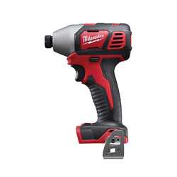 Milwaukee® 2657-20 M18™ Compact Cordless Impact Driver With Belt Clip, 1/4 in Hex/Straight Drive, 3450 bpm, 1500 in-lb Torque, 18 V