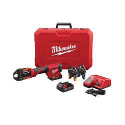 Milwaukee® M18™ 2674-22P Press Tool Kit With Viega PureFlow™ Jaws, Up to 1 in, 18 VDC, M12™ Redlithium™ Lithium-ion Battery