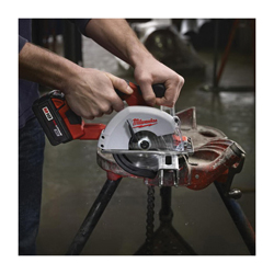 Milwaukee® 2682-22 M18™ Cordless Circular Saw Kit, 5-3/8 in Blade, 20 mm Arbor/Shank, 18 VDC, Lithium-Ion Battery