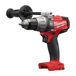 Milwaukee® 2704-20 M18 FUEL™ Cordless Hammer Drill, 1/2 in Keyless Chuck, 1200 in-lb Torque, 18 VDC, Lithium-Ion Battery