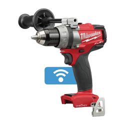 Milwaukee® 2705-20 M18 FUEL™ Cordless Drill Driver, 1/2 in Keyless/Metal Single Sleeve Ratcheting Lock Chuck, 1200 in-lb Torque, 18 VDC, Lithium-Ion Battery